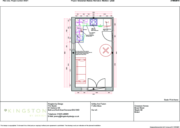 PLOT 2 KITCHEN PLAN