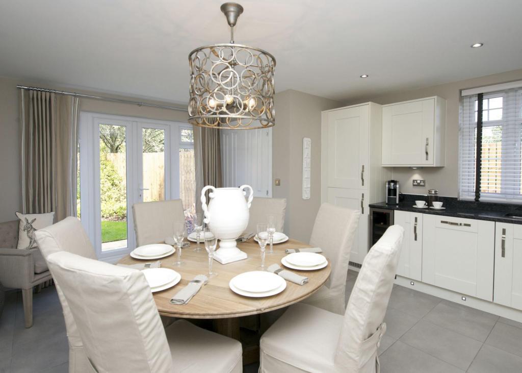 Atherton kitchen/dining room