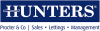 Hunters, Skipton Lettings logo