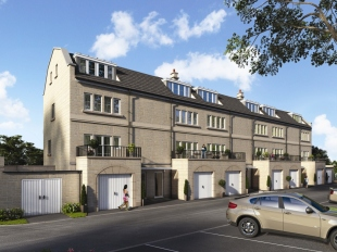Kingston Mills, The Island  by Linden Homes, Kingston Road