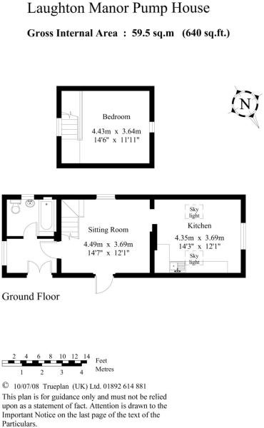 Pump House Floorplan