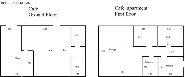 Café & Apartment