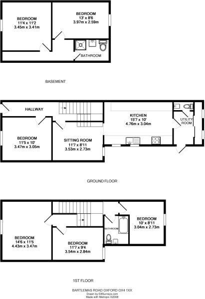 8 bart floor plan