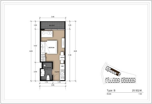 25 Sqm Studio