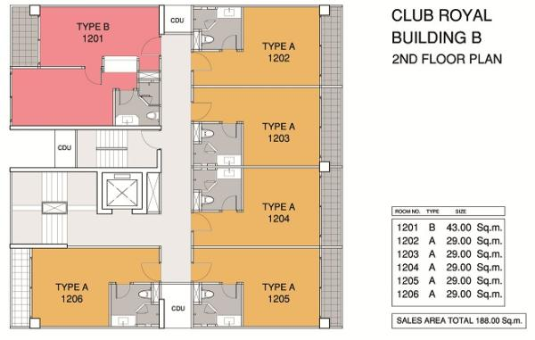 Floor Plan 2nd