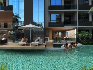 1 bed Studio apartment for sale in Pattaya