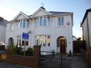 semi detached property for sale in Vernon Road, Porthcawl...
