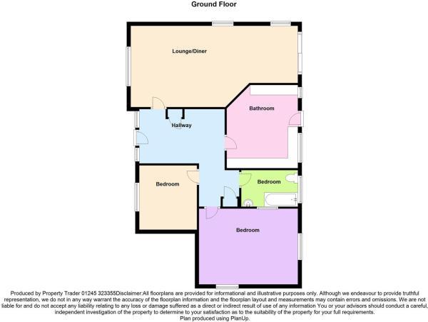 3 Vicarage Floorplan