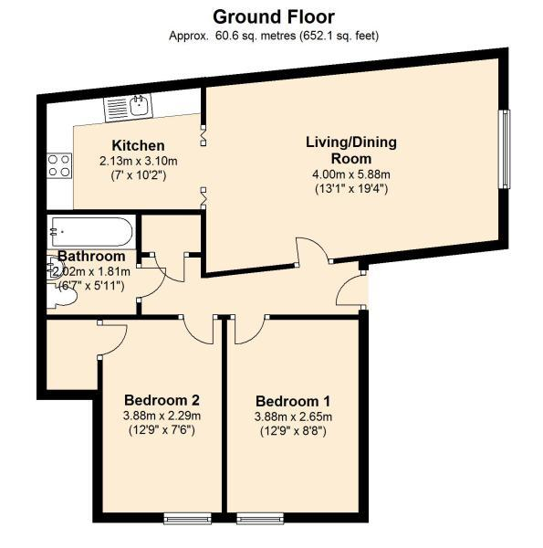32 Knoll Close floor plan