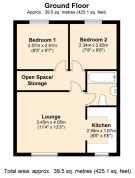 7 Knoll Close floorplan