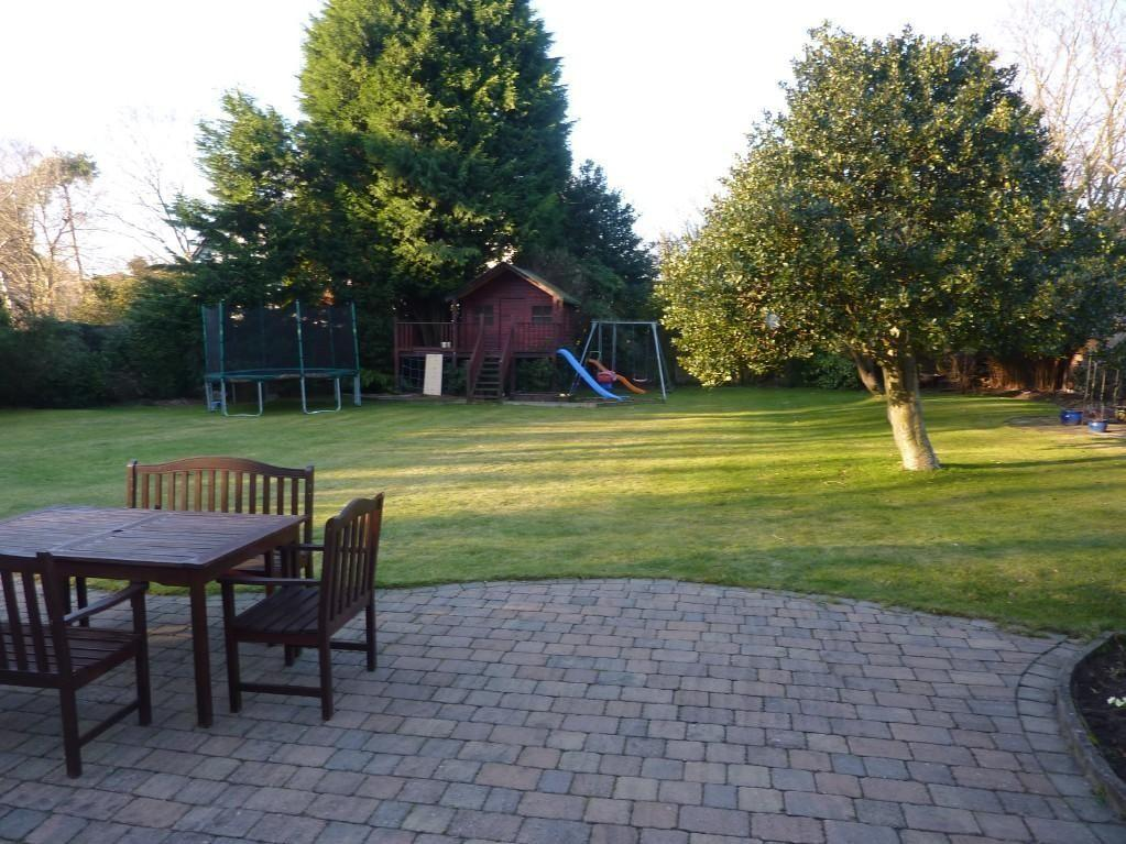 photo of garden and patio