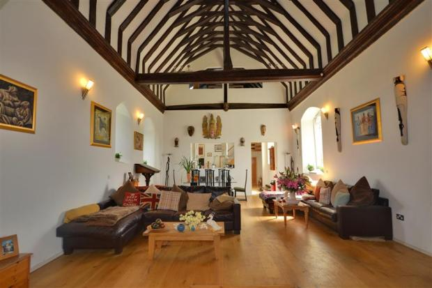 Vaulted Living Room