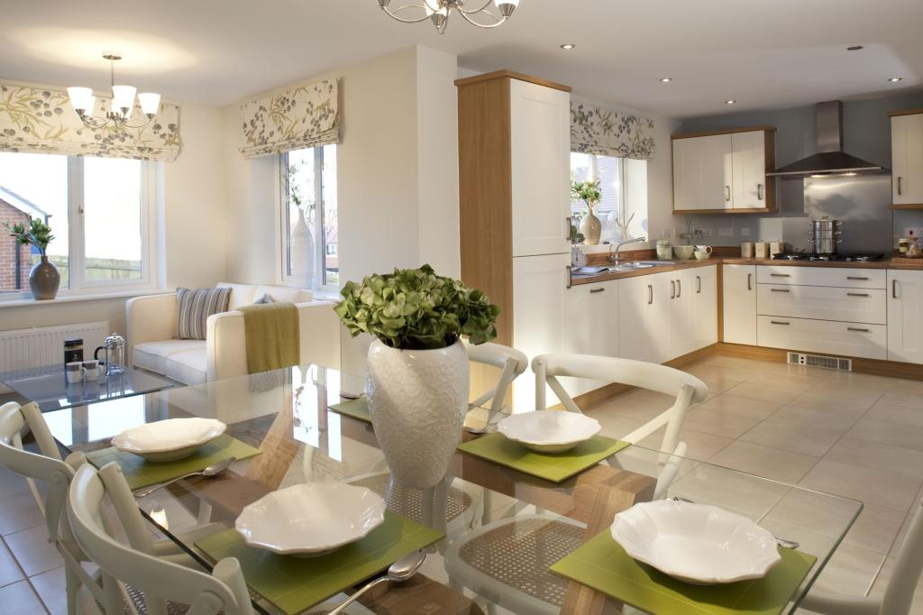 The 4 bedroom winstone Kitchen/Dining/Family area