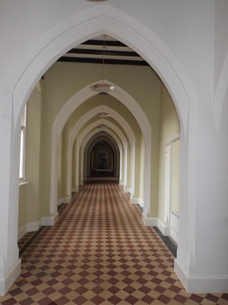 Hall to Residence