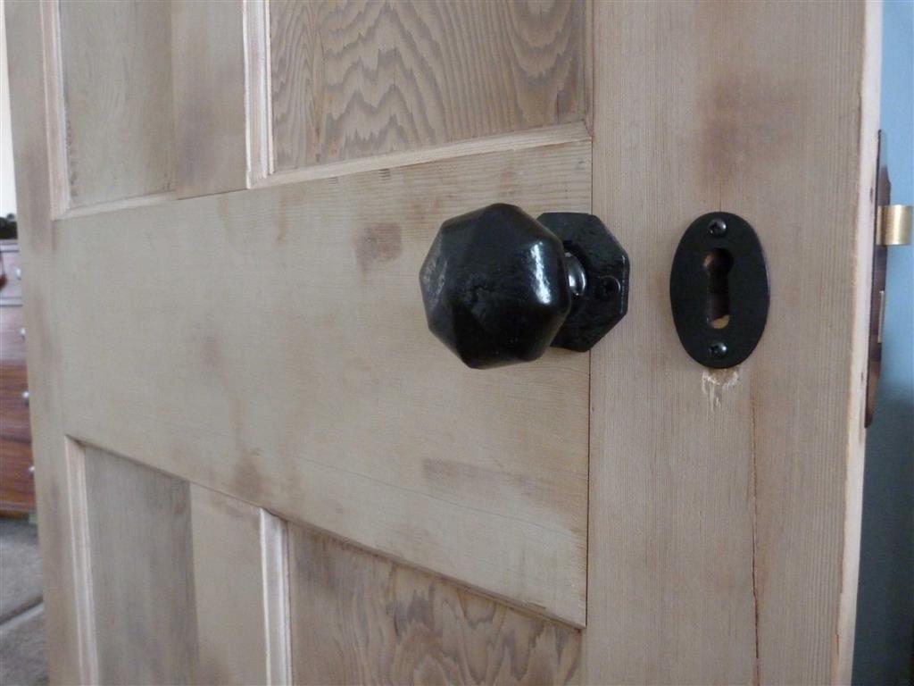 Period stripped door