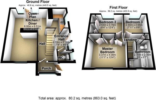 Floor Plan 69 Iva...