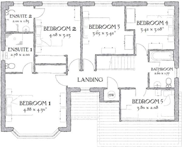 5 bedroom detached house for sale in sandy lane buckshaw for Marlborough house floor plan