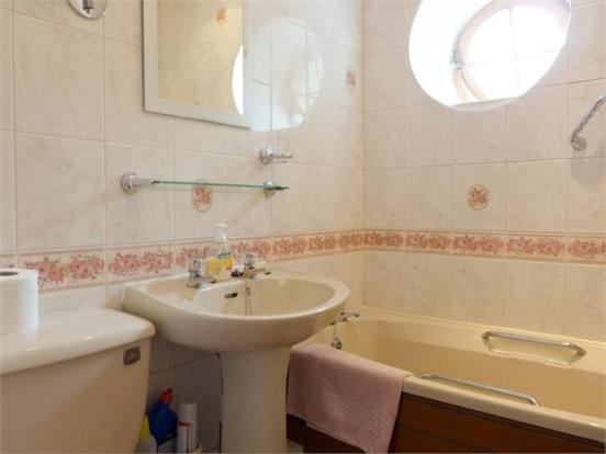 Lavender Cottage Bathroom