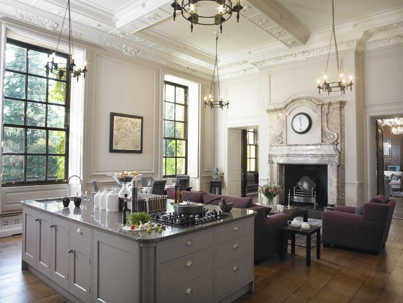 Purple kitchen design ideas photos inspiration for Grand design kitchen ideas