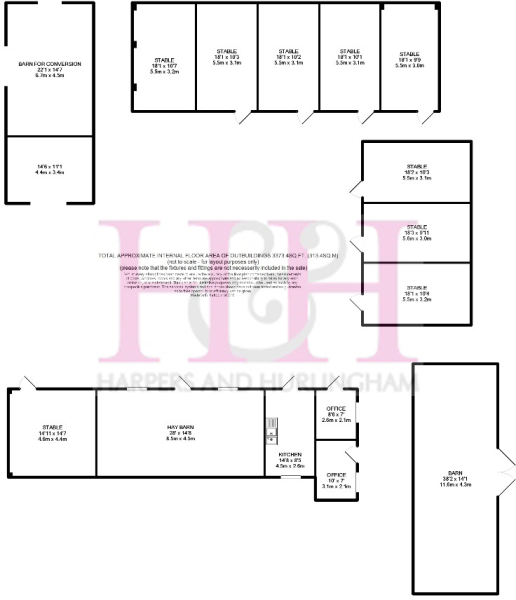 Floor Plan, Outbuildings