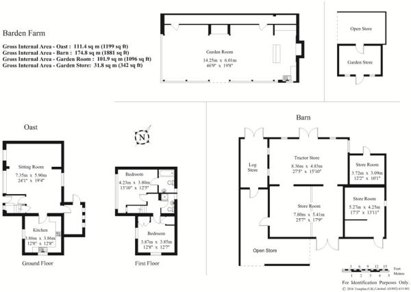 Floor Plan, Outbuildings