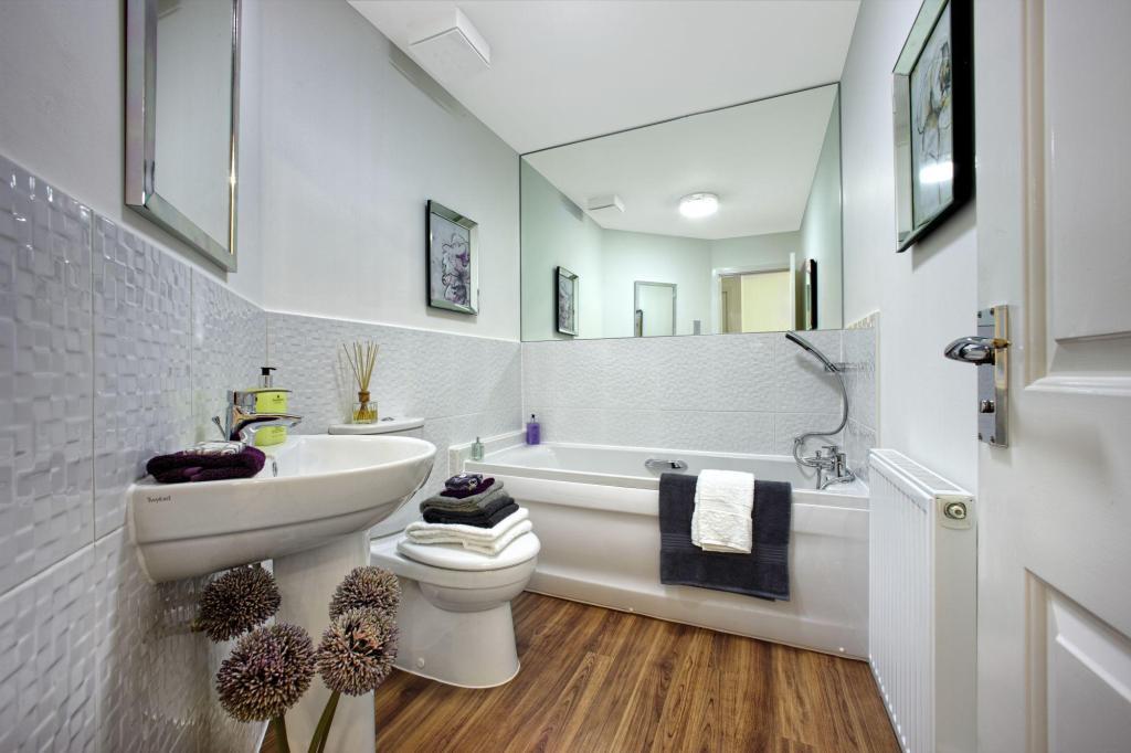 Typical interior bathroom