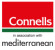 Connells and Mediterranean, (property division of Banco Sabadell) logo