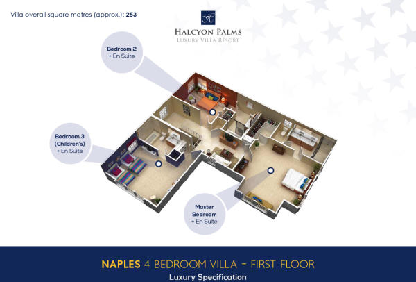 4 bed - 1st floor