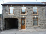 property for sale in Cemetery Road, Treorchy