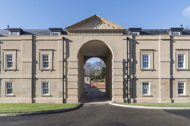 Arched Entrance To C