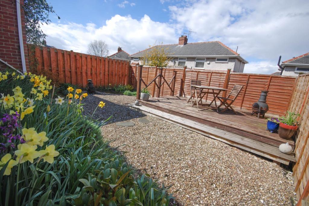 Garden area view 1