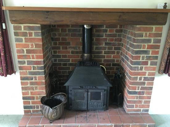 Wood burner 2
