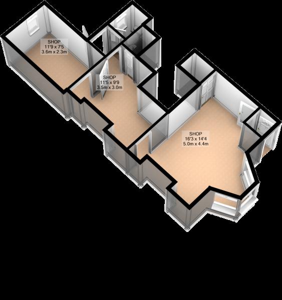 GROUND FLOOR 3D PLAN