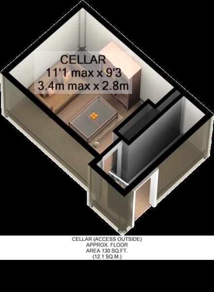 CELLAR 3D PLAN