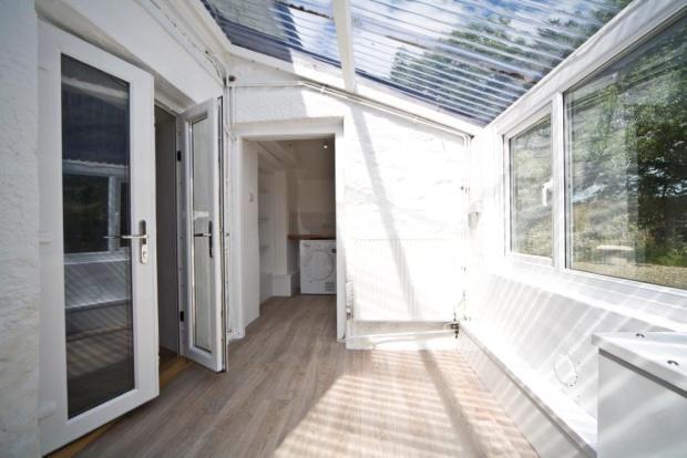 Rear Entrance Porch