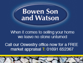 Get brand editions for Bowen Son & Watson, Oswestry