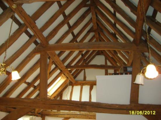 Tilehouse Street main bed beams