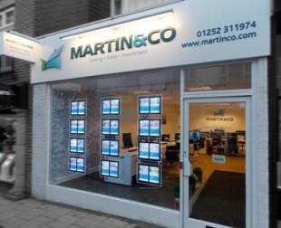 Martin & Co, Aldershot - Lettings & Salesbranch details