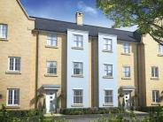 new development for sale in Chapman Way, Eynesbury...