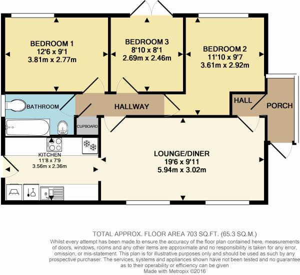 Colour Floor Plan...
