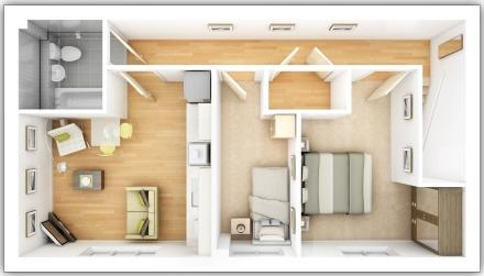 Dovedale first floor plan