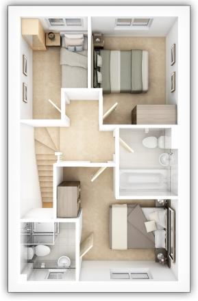 Earlsford first floor plan