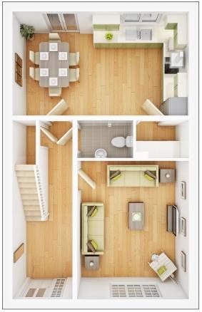 Midford ground floor plan