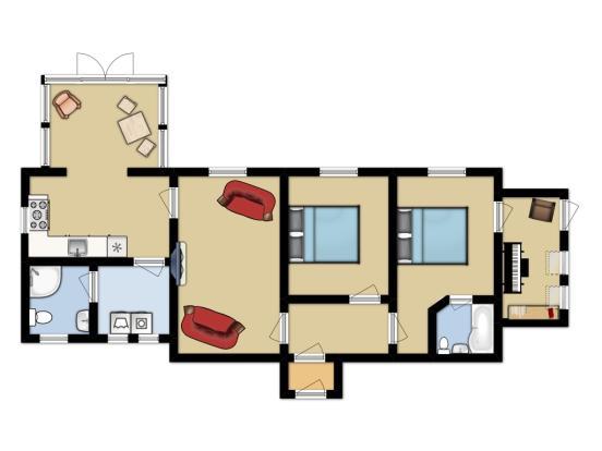 Floor Plan Kirkcroft Sibbaldbie