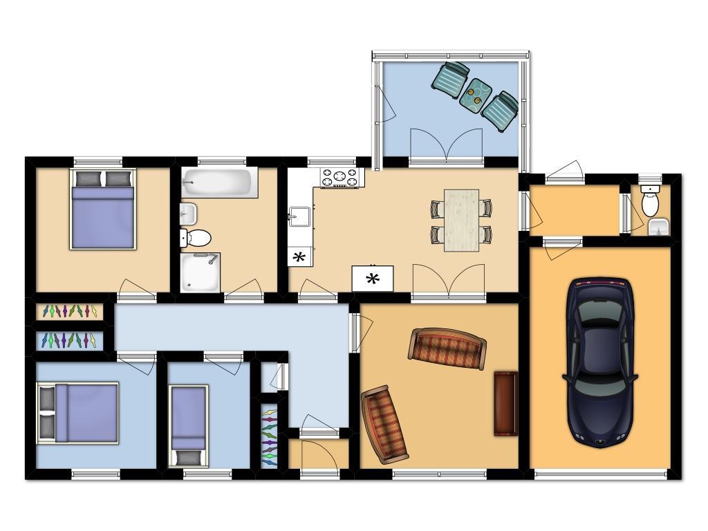 Floor plan 32 kennels road