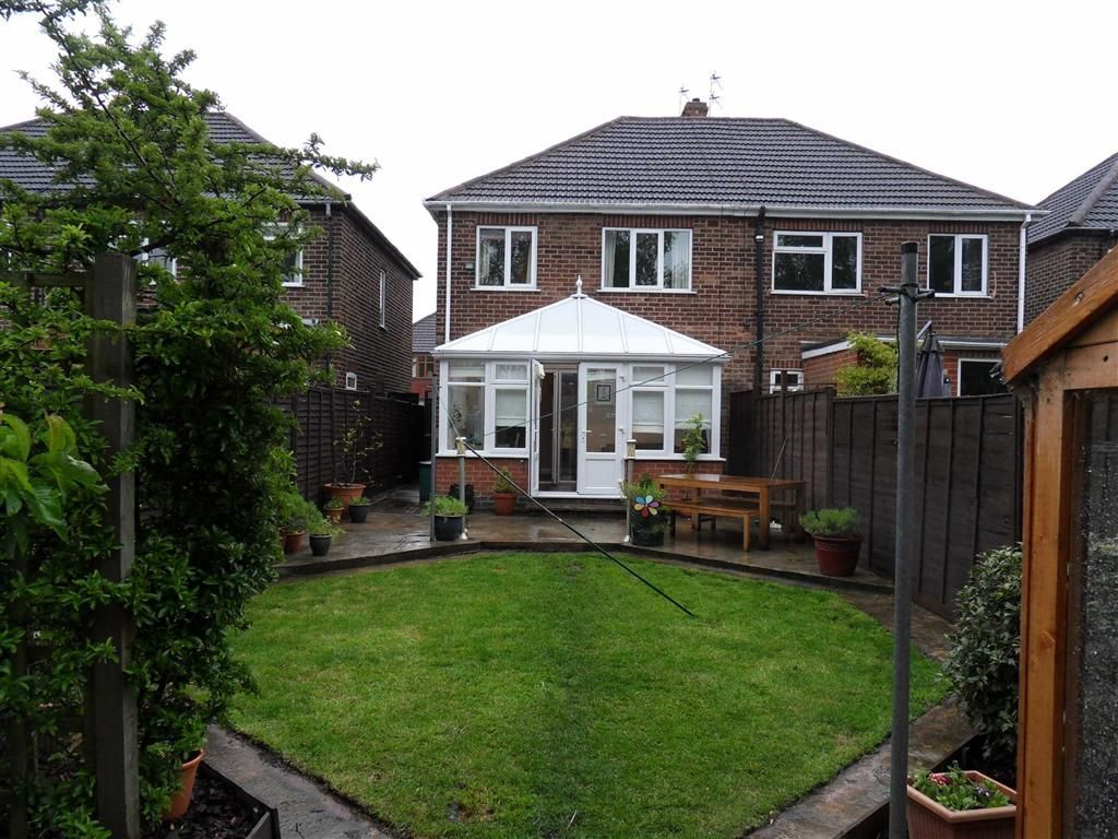 3 bedroom semi detached house for sale in castledine for 3 bedroom house extension ideas