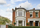 semi detached house in Hebron Road, London, W6