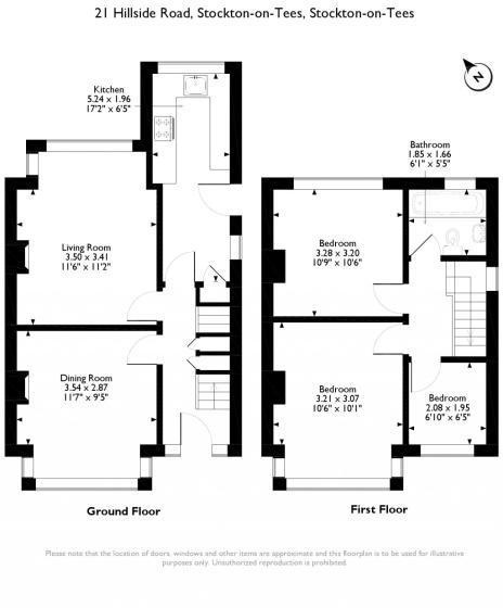 21 Hillside Floorplan