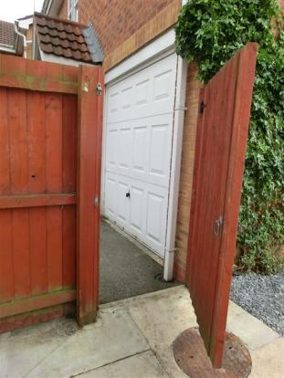 Gate access garage