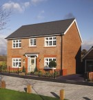 4 bed new house in Castle View, Doxey...